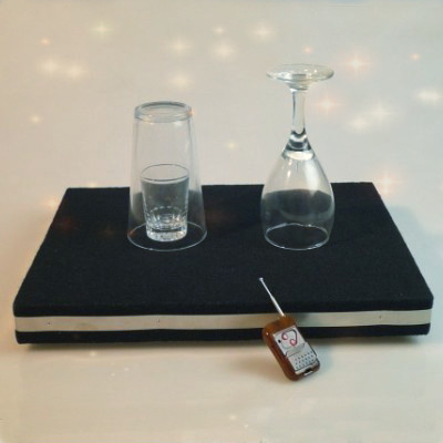 Coin in Glass and Glass Breaking Tray Combination Trick|イリュージョン,大阪マジック,マジック,手品,販売,ショップ,マジシャン,大阪,osaka,magic