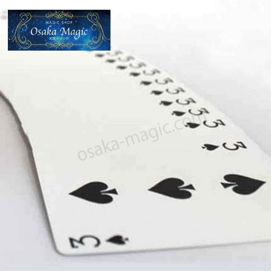 52枚全て同じカード ワンウェイ フォーシング デック One 購入 Forcing 割引 ポーカーサイズ Way バイスクル Deck