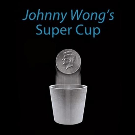 コインが消えたり 現れる? スーパーカップ ハーフダラーver 2020秋冬新作 オーバーのアイテム取扱☆ ~Super Cup by Wong Half Dollar Johnny