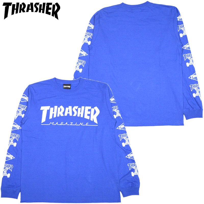 d8047140 Slasher THRASHER MAG Multi-C LONGSLEEVE(ROYAL WHITE) slasher Ron T THRASHER  Ron T slasher long T-shirt THRASHER long T-shirt slasher mug logo THRASHER  mug ...