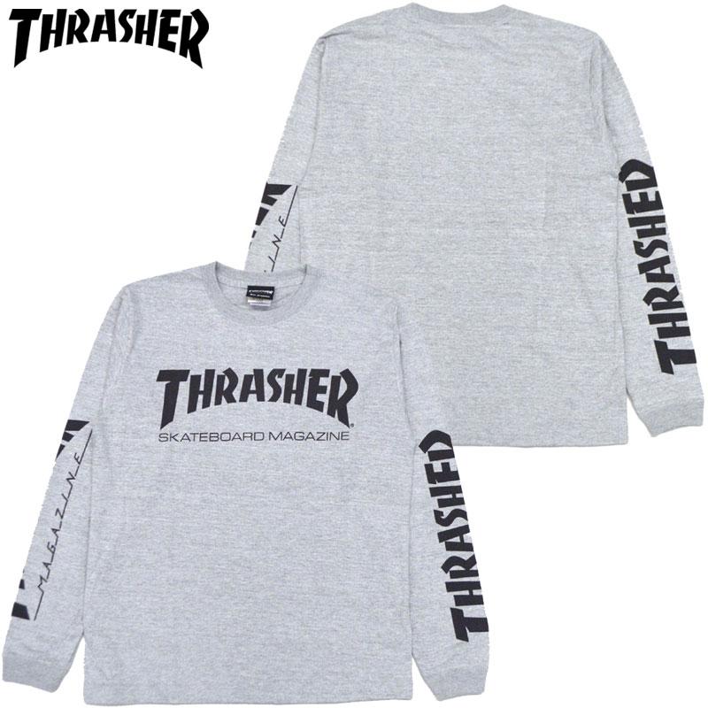 af9c5e79 Slasher THRASHER MAG LONGSLEEVE (gray GRAY BLACK) slasher Ron T THRASHER  Ron T slasher ...