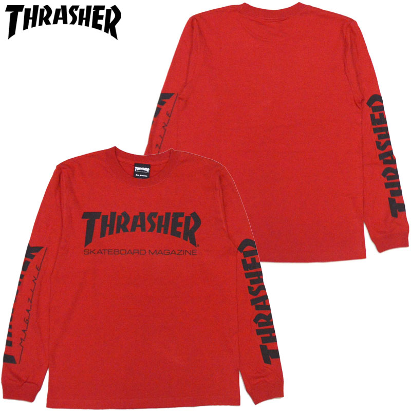496ce088 Slasher THRASHER MAG LONGSLEEVE (red red RED BLACK) slasher Ron T THRASHER  Ron T ...