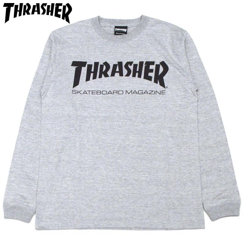 81cdc0eb Slasher THRASHER MAG LONGSLEEVE (gray GRAY) slasher Ron T THRASHER Ron T  slasher long ...