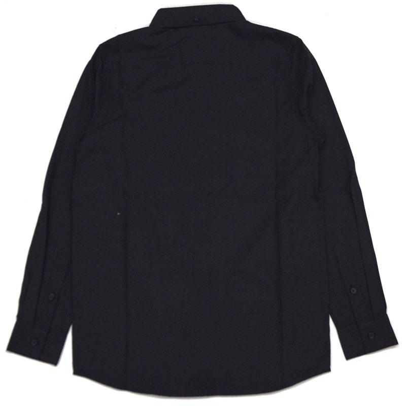 Thrasher THRASHER MAG l/s B.D OXFORD SHIRT (black Black BLACK) slasher t-shirt THRASHER shirt slasher work shirt THRASHER workshirt shirt long sleeve shirt Oxford shirt MAGLOGO maglogo