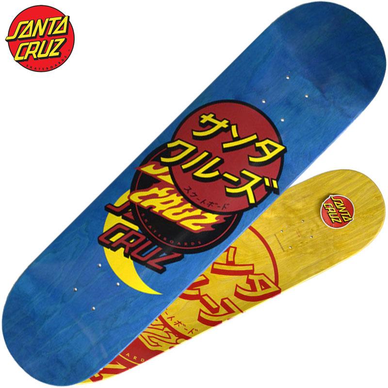 GROUP YELLOW)サンタクルーズデッキ SANTA デッキ CRUZスケートボード サンタクルーズスケートボード SANTA サンタクルーズ DECK(イエロー スケボー CRUZ CRUZデッキ SANTA 黄 DOT