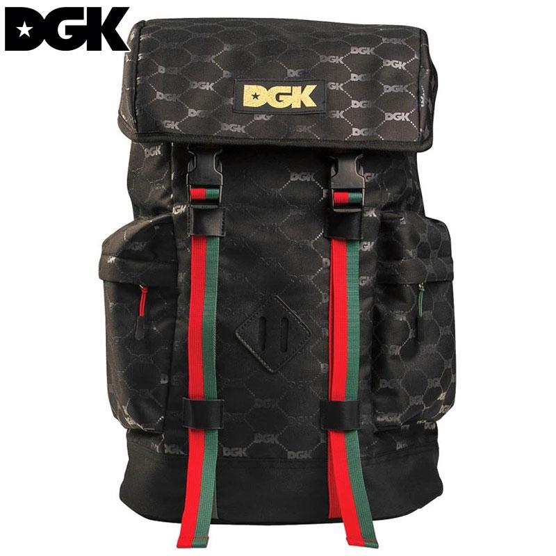 送料無料 ディージーケー DGK PRIMO BACKPACK(ブラック 黒 BLACK)ディージーケーバックパック DGKバックパック ディージーケーリュック DGKリュック デイパック デイバック
