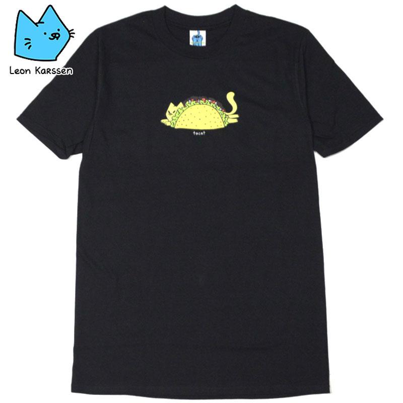レオンカーセン LEON KARSSEN TACAT TEE(ブラック 黒 BLACK)レオンカーセンTシャツ LEON KARSSENTシャツ レオンカーセン半袖 LEON KARSSEN半袖