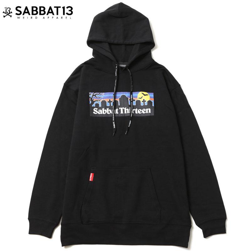 黒 GRAVE BLACK)サバトサーティーンパーカ SABBAT13プルオーバー サバトサーティーンプルオーバー SABBAT13 HOODIE(ブラック サバトサーティーン SABBAT13パーカ