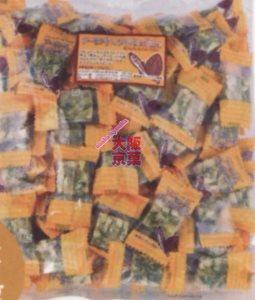 大阪京菓ZR日進堂製菓 500Gアーモンド&フィッシュCUBE×10個 +税