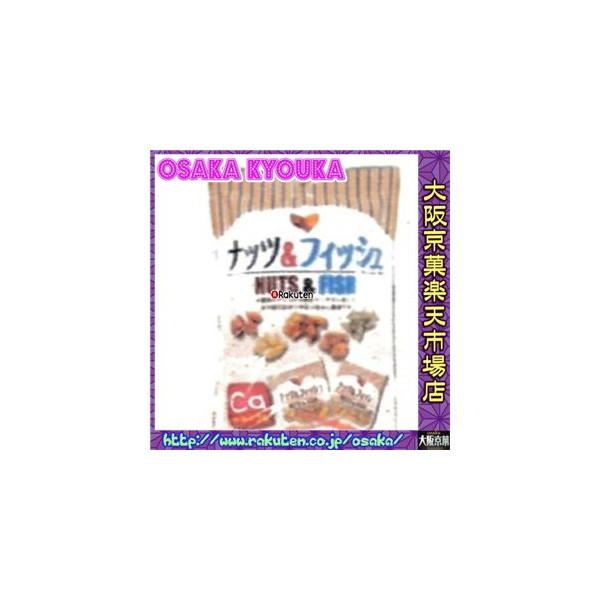 大阪京菓ZRタクマ食品 85g ナッツ&フィッシュ×60個 +税 【送料無料(北海道・沖縄は別途送料)】【1k】