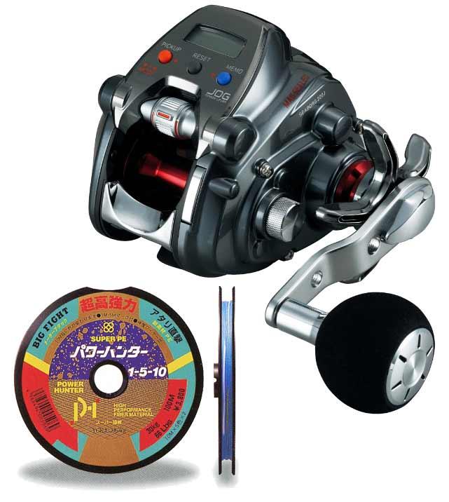 【送料無料!】 ダイワ(daiwa) シーボーグ 200J (右巻) PEライン3号200mセット!(よつあみパワーハンター) 電動リールに糸を巻いてお届けします!