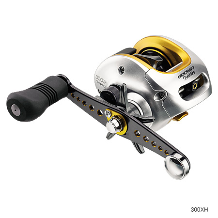拧Shimano(shimano)生物选秀快速火300XH型G右两车轴绕线机