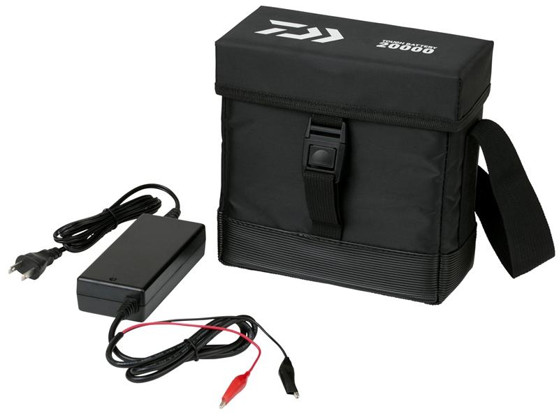 【送料無料】ダイワ(daiwa) タフバッテリー 20000C (充電器付き)電動リール対応バッテリー 20Ahの船釣り用鉛バッテリー