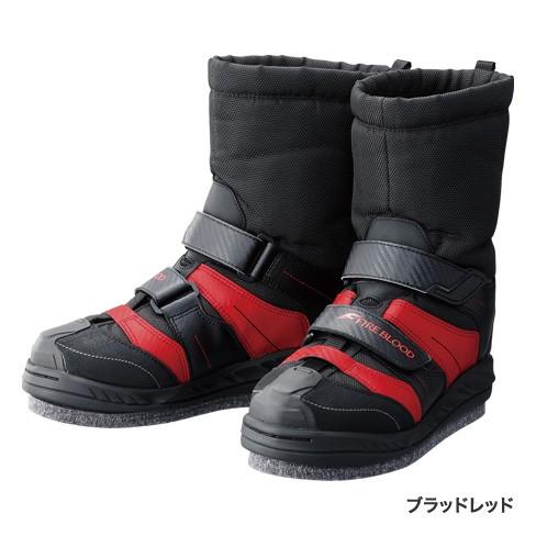シマノ(shimano) FB-157P ジオロック・スーパーサーマルカットラバーピンフェルトブーツ FIRE BLOOD