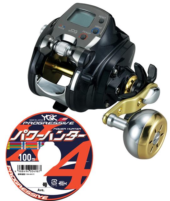 【送料無料】 ダイワ(daiwa)レオブリッツ 300J PEライン4号300mセット!(よつあみパワーハンター プログレッシブ) 電動リールに糸を巻いてお届けします!