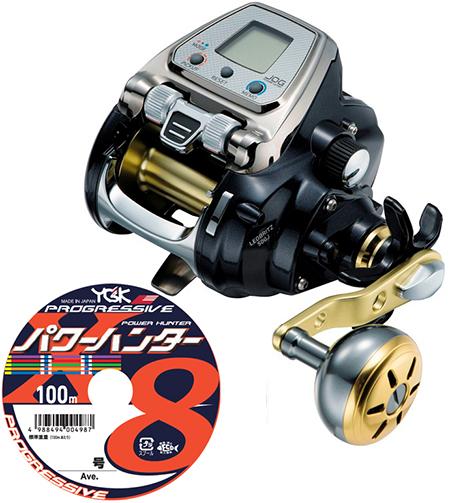 【送料無料】 ダイワ(daiwa)レオブリッツ 500J PEライン6号300mセット!(よつあみパワーハンター プログレッシブ) 電動リールに糸を巻いてお届けします!