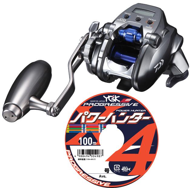 【送料無料】 ダイワ(daiwa) 18 シーボーグ 200JL-SJ (左巻) PE1.5号 400mセット!(よつあみパワーハンタープログレッシブ) 電動スロージギング専用モデル