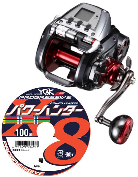 【送料無料】 ダイワ(daiwa) シーボーグ 800J PEライン12号400m(よつあみパワーハンター プログレッシブ) 電動リールに糸を巻いてお届けします!
