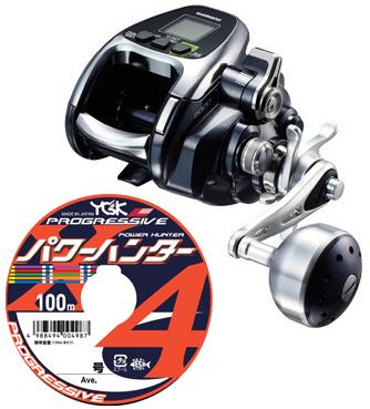 【送料無料】 シマノ(shimano) 2016 フォースマスター 2000 PEライン3号500mセット(よつあみパワーハンター プログレッシブ) 電動リールに糸を巻いてお届けします!