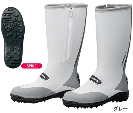 シマノ(shimano) FB-002Q スパイクブーツW (ワイドタイプ) サイドファスナーで脱ぎ履きしやすいベーシックブーツ