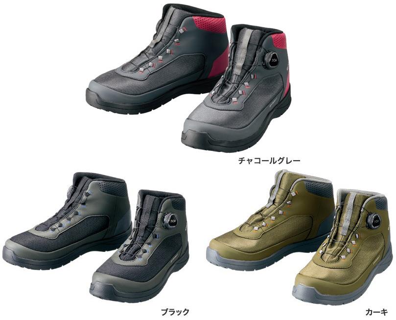 シマノ(shimano) FS-082R ドライシールド・デッキラジアルフィットシューズ HW