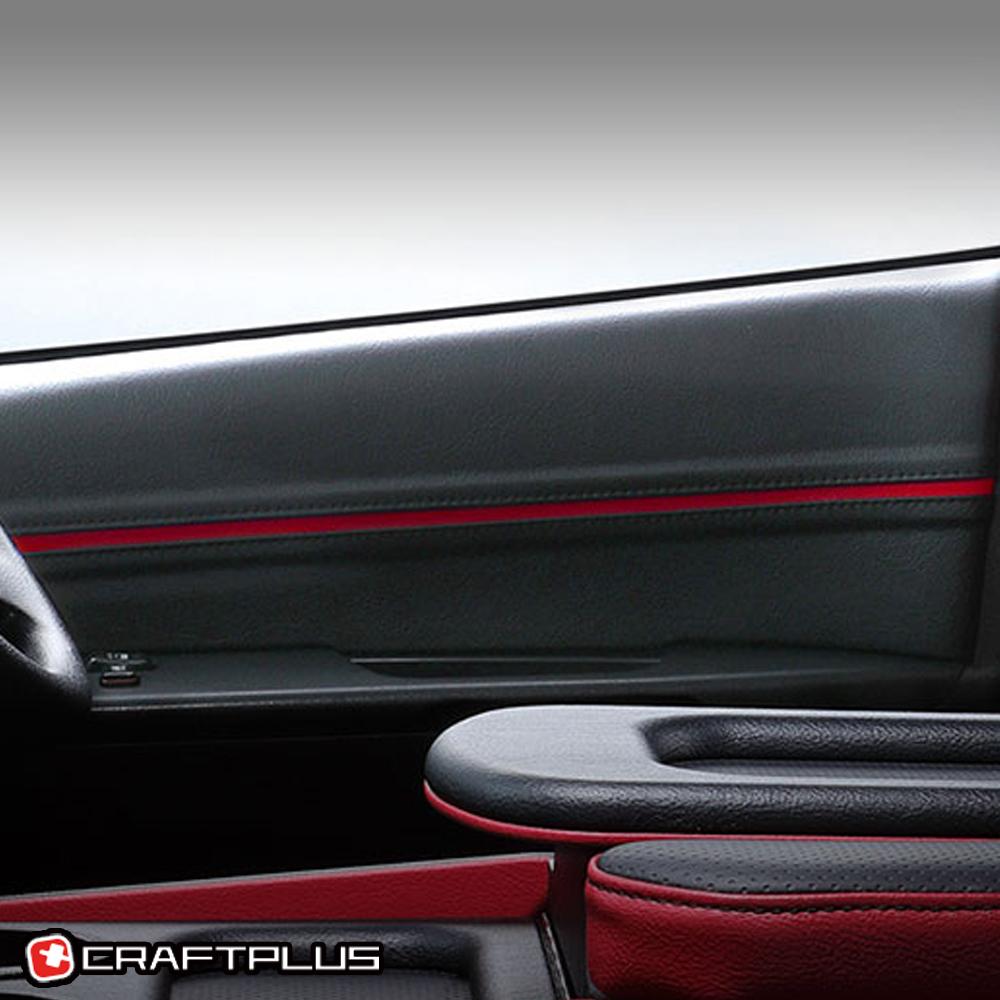 ハイエース 200系 レザー ドアパネル フロント両側 クラフトプラス ビーンズ 革張り シック 内装 インテリア パーツ