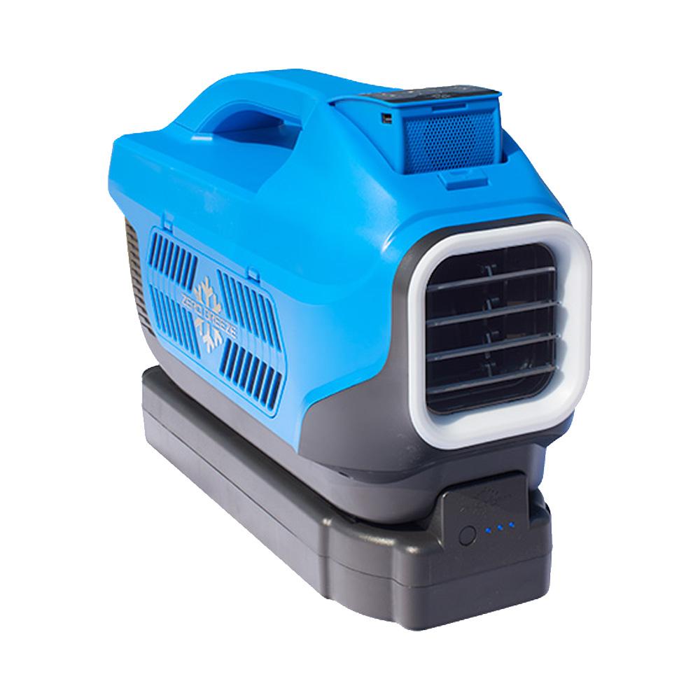 車中泊用 冷房専用 ポータブルエアコン Zero Breeze ゼロブリーズ 携帯クーラー キャンピングカー コイズミ 車載 アウトドア Bluetooth スピーカー