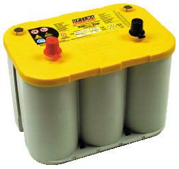 イエロートップディープサイクルバッテリー