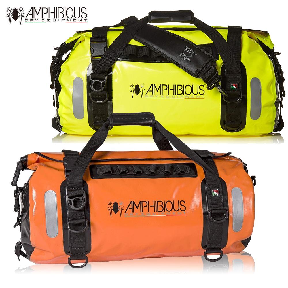 防水バッグ かばん 耐水バッグ AMPHIBIOUS アンフィビウスVOYAGER 45L ORANGE オレンジ/FLUO イエロー