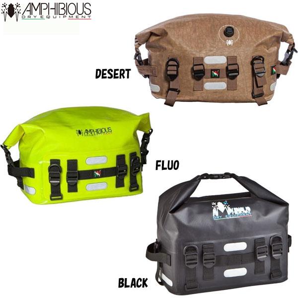 防水バッグ かばん 耐水バッグ AMPHIBIOUS アンフィビウスUP BAG 19L DESERT BLACK FLUO