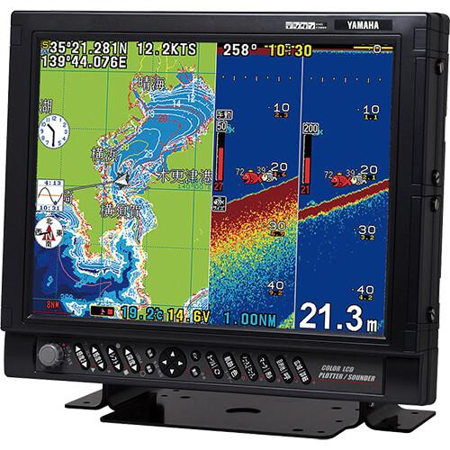 DGPSプロッタ魚探 15型液晶モデル 出力50kHz-2kW/200kHz-1kW ビーコン型DGPS