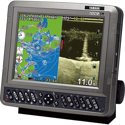 GPSプロッタ魚探 8.4型液晶モデル 出力600W ワイドスキャン対応 内蔵GPS
