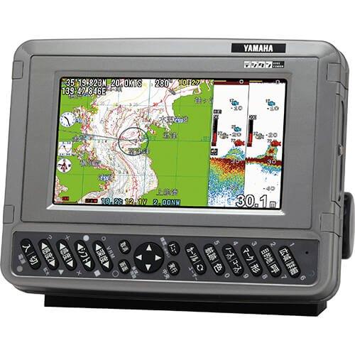 GPSプロッタ魚探 7型液晶モデル 出力600W 内蔵GPS