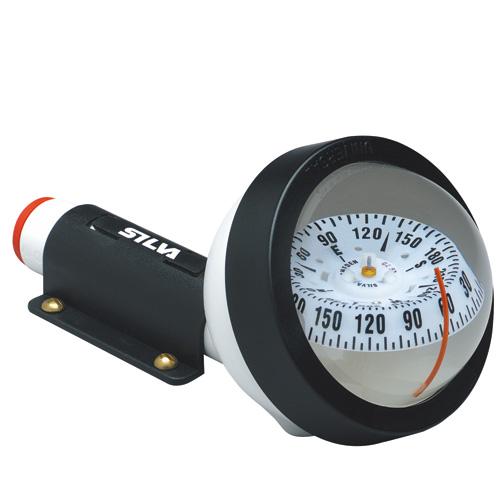 ハンドコンパス 70UNE SILVA 方位磁石 船舶部品 ボート用品 漁船 LED 照明機能搭載