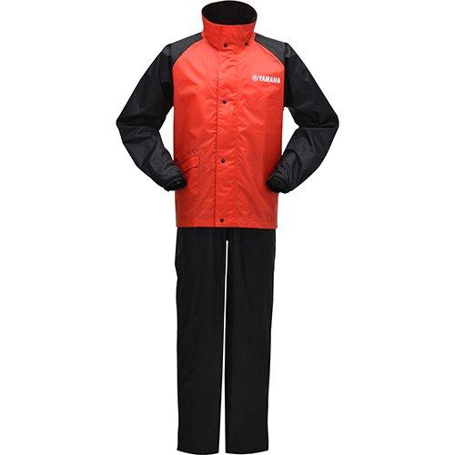 ヤマハ YAMAHA サイバーテックス レインスーツ 雨合羽 レインコート 雨具 バイク用 YAR22 イエロー アイボリー ブルー ガンメタル レッド