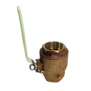 GROCO ボールバルブ NPTねじサイズ2-1/2″ 31.7mm プロンズ製