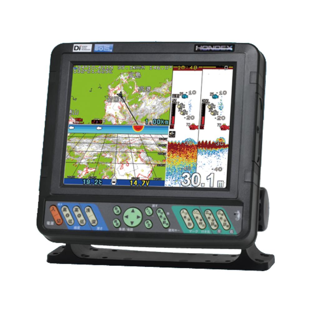 魚群探知機 船舶用品 8.4型カラー液晶プロッターデジタル魚探【GPS外付仕様】
