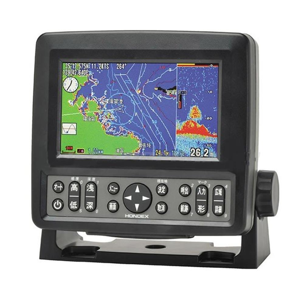 魚群探知機 船舶用品 5型ワイドカラー液晶プロッター魚探 HE-601GP2