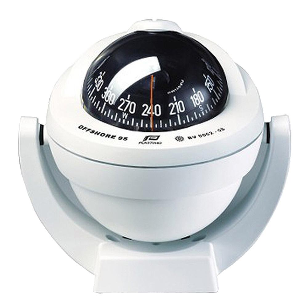 オフショア95 コンパス ブラケットマウント コニカルカード プラスチモ社製 12V/24V 対応 LED 19~40フィート 船舶部品 ボート用品 方位磁石