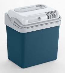 ポータブル クーラーボックス 24L 車載用 モビクール 冷蔵庫 アイス ホット P24DC 大容量 500ml 12本可能