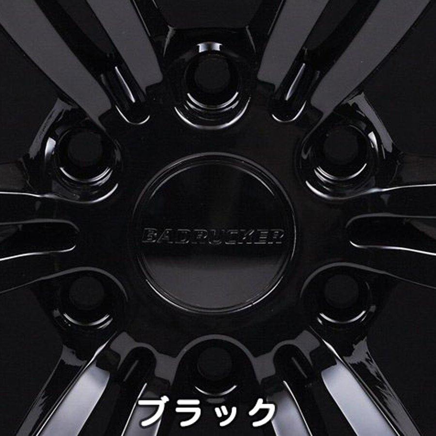 ハイエース新世代のスタイリングホイール ハイエース専用アルミホイール バッドラッカー 70%OFFアウトレット BADRUKER 16 +38 6-139.7 inch 送料は一覧表を参照 6.5J 付与