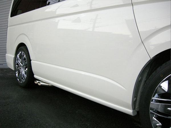 サイドステップ EURO ハイエース 200系 1型 2型 3型 4型 (5型) 前期 後期 標準 ナロー ワイド S-GL W-GL レジアスエース Joker Design ジョーカーデザイン