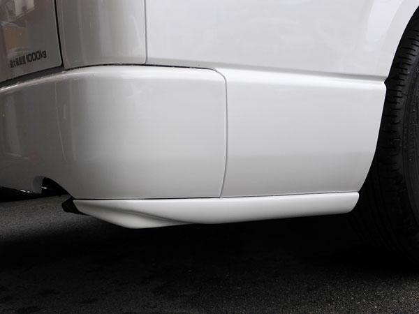 リアサイドディフューザー type1 ハイエース 200系 1型 2型 3型 4型 (5型) 前期 後期 標準 ナロー ワイド S-GL W-GL レジアスエース Joker Design ジョーカーデザイン