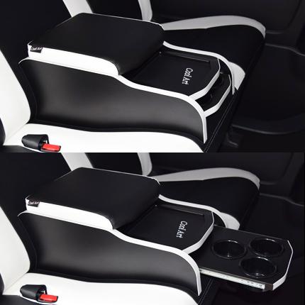 ドリンクホルダー&リアシートコンソール 200系ハイエース1,2,3,4型 バン