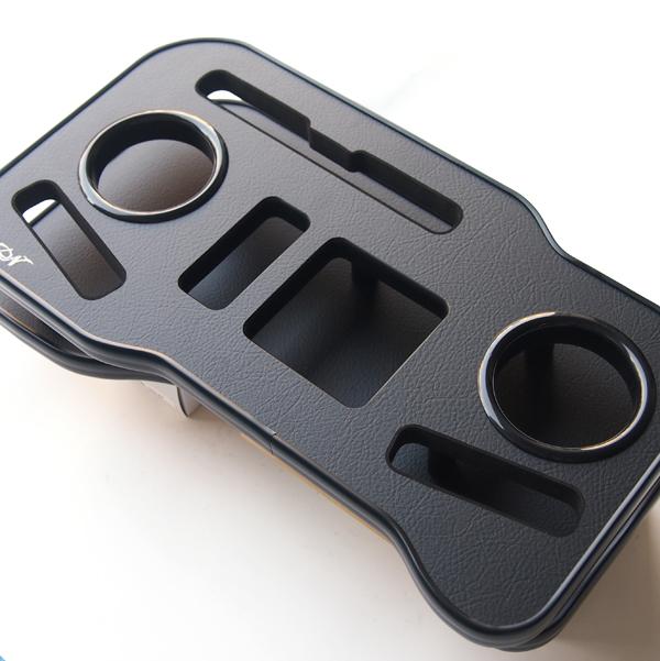 フロントカップホルダー 黒 紙パックホルダー 200系 ハイエース ワイド用 1型 2型 3型 4型(5型)前期 後期 スマホ ドリンクホルダー 携帯 小物置き