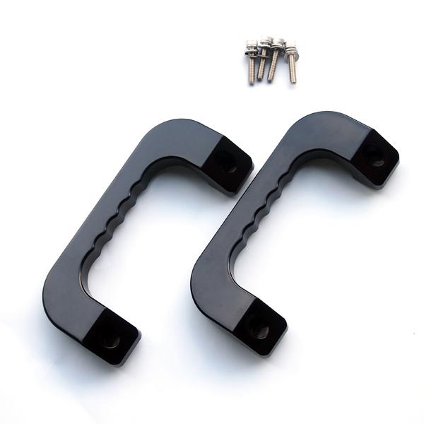 アシストグリップ (ロゴ無し) ビス付き ハイエース 200系 4型 3型 2型 1型 (5型) 取っ手 握り グリップ ナロー ワイド S-GL 重厚感 インテリア 内装 パーツ