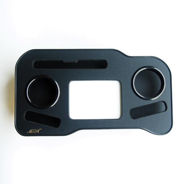 フロントカップホルダー タブレット置 トレイ付 200系 ハイエース ワイド 1型 2型 3型 4型 スマホ ドリンクホルダー