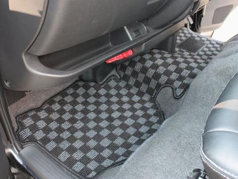 フロアマット 200系ハイエース 1,2,3,4型 S-GL ナロー用 オールカバー フロント/セカンドセット