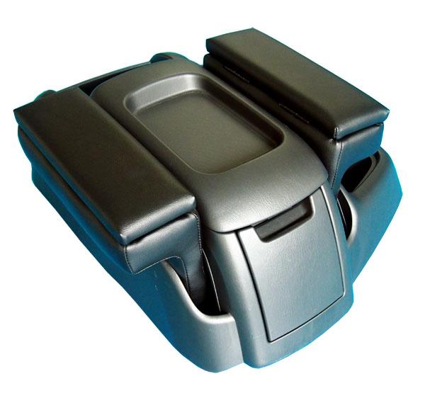 小物入れ付 アームレスト 肘掛け 肘置き ブラック/ベージュ 単品(1個)ハイエース 200系 1型 2型 3型 4型 対応