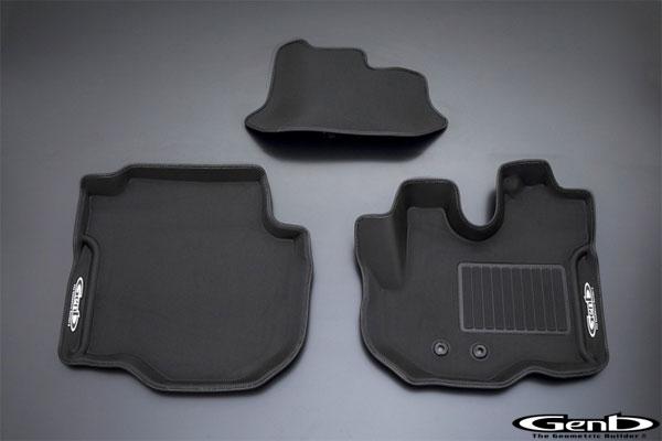 コンフォートマット フロントセット 日産 NV350 キャラバン E26 標準ボディ フロアマット 立体形成 内装 インテリア パーツ